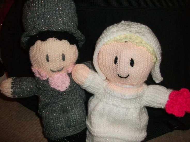 Bride and Groom - Knitting creation by mobilecrafts | Knit.Community