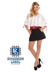 $92.95 Short-sleeved Traditional Romanian Blouse RL0058 100% hand made http://www.romanianlabel.ro/en/ii-cu-maneca-scurta/ie-traditionala-romaneasca-cu-maneca-scurta-RL0058