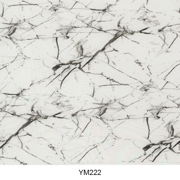 Water transfer printing film marble pattern YM222