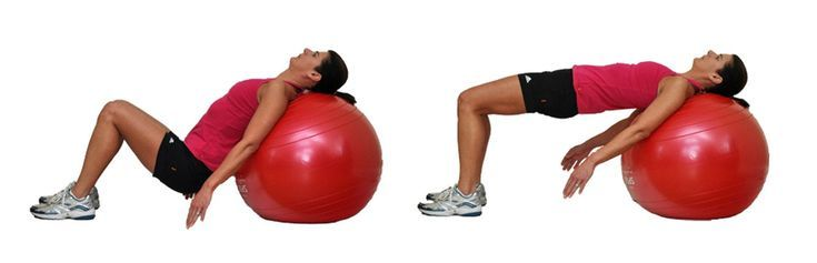 Work Your Core With These Creative Exercises on the Ball: Butt Lift on the Ball
