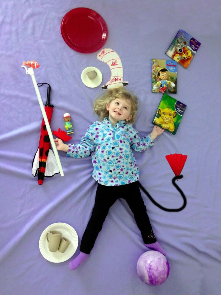 the cat in the hat picture pose - recreate a picture from one of your child's favorite books