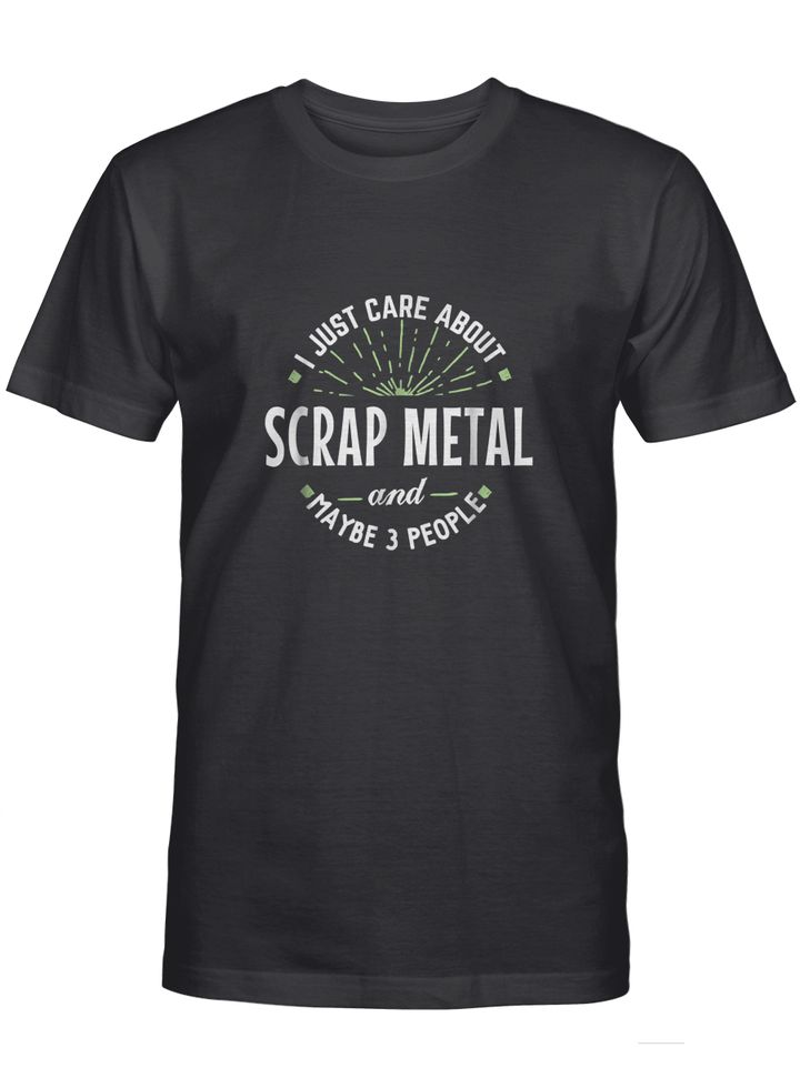Funny scrap metal shirt for men dad fathers day gift mix