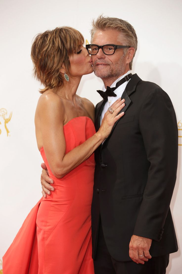 Lisa Rinna and Harry Hamlin today, still going strong.
