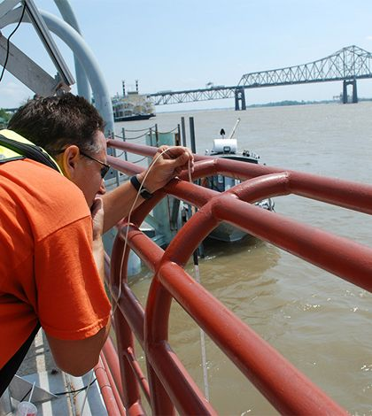 A recent study led by Kansas State University professor of biology Walter Dodds, suggests that the Mississippi River generates more primary production than people previously thought. #EnvironmentalMonitor #waterquality http://www.fondriest.com/news/novel-study-shows-mississippi-microbes-active-previously-thought.htm