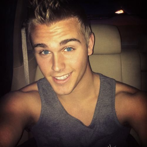 Hot Guy with Blue Eyes