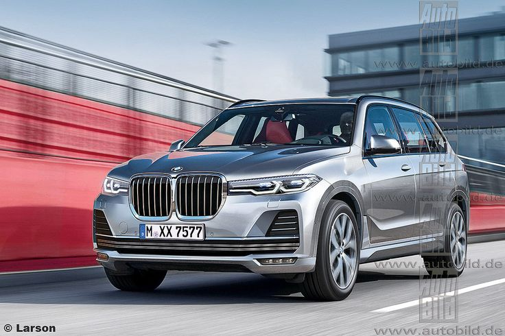 BMW X7 rendering shows an attractive design - http://www.bmwblog.com/2016/11/08/bmw-x7-rendering-shows-an-attractive-design/