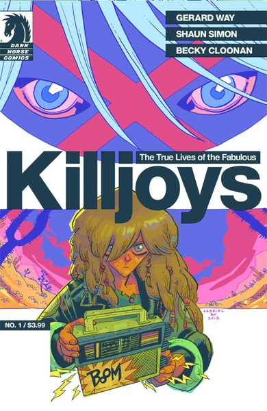 The True Lives of the Fabulous Killjoys #1 will be in comic book shops (and Darkhorse Digital) on June 12.