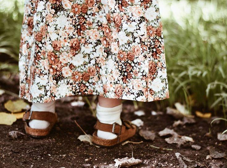 Birkenstocks and socks. Socks and sandals. Button maxi skirt for Girls Fashion Kids Autumn Fall 2017 Fashion trends www.desertislandbrand.com