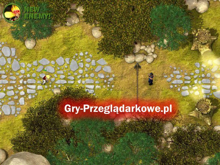 Obrona przed szkieletami i zombie w grze Call of Defense - produkcja dostępna za darmo na Facebooku. Jest to przeglądarkowa gra typu obrona wieży