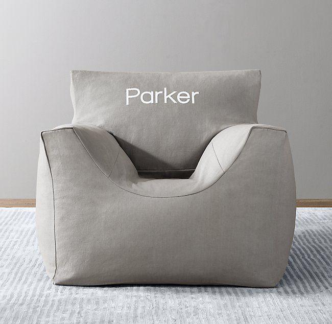 Cotton Canvas Bean Bag Chair Cover