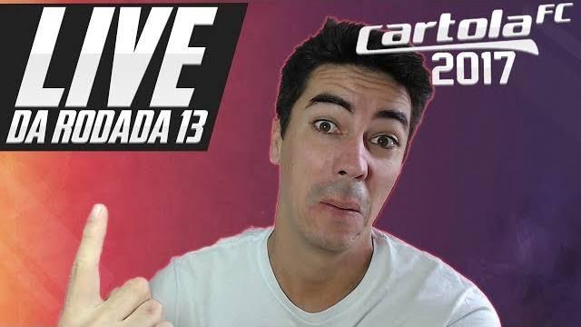 🔴 Camillo JOGA10 está ao vivo: LIVE CARTOLA FC RODADA 13 - TIMES E SUGESTÕES