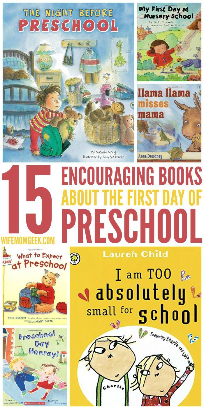 First Day of Preschool Books