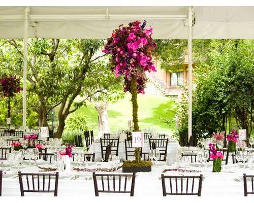 Taller de tallos decoraci n boda centros de mesa 2014 - Mesa de taller ...