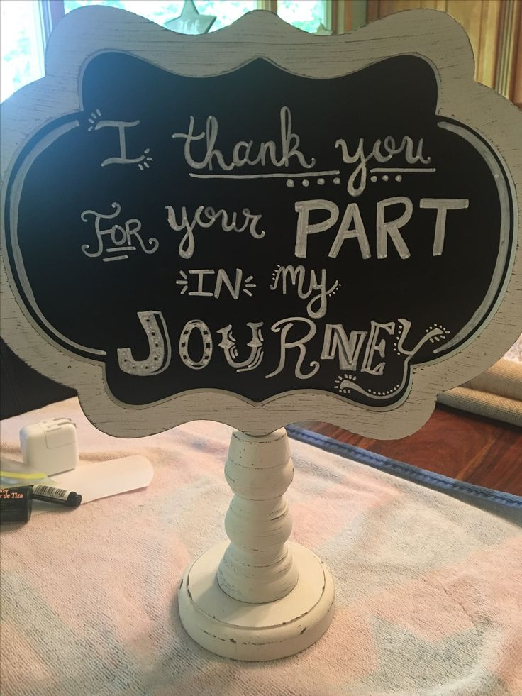 Cute sign to put on card table at grad party