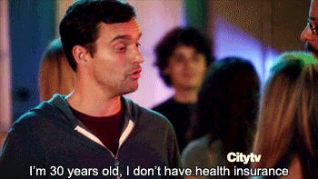 When you're out with someone younger than you who keeps talking about how successful they are: | The 27 Most Relatable Nick Miller Quotes #NewGirl