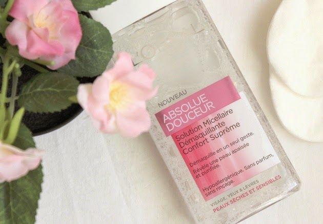 Solution Micellaire Démaquillante l'Oréal Eau micellaire Beauté