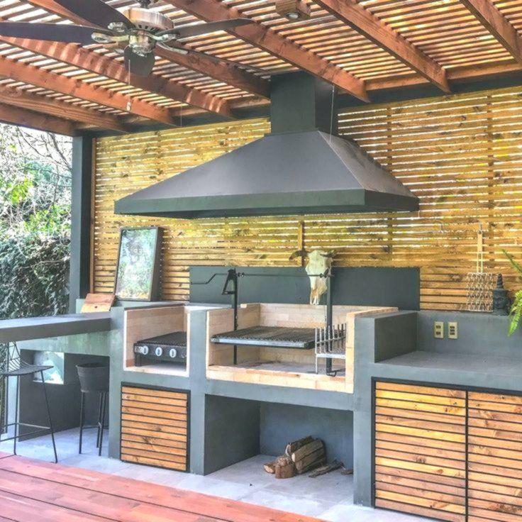 Outdoor Kitchen Storage Diy