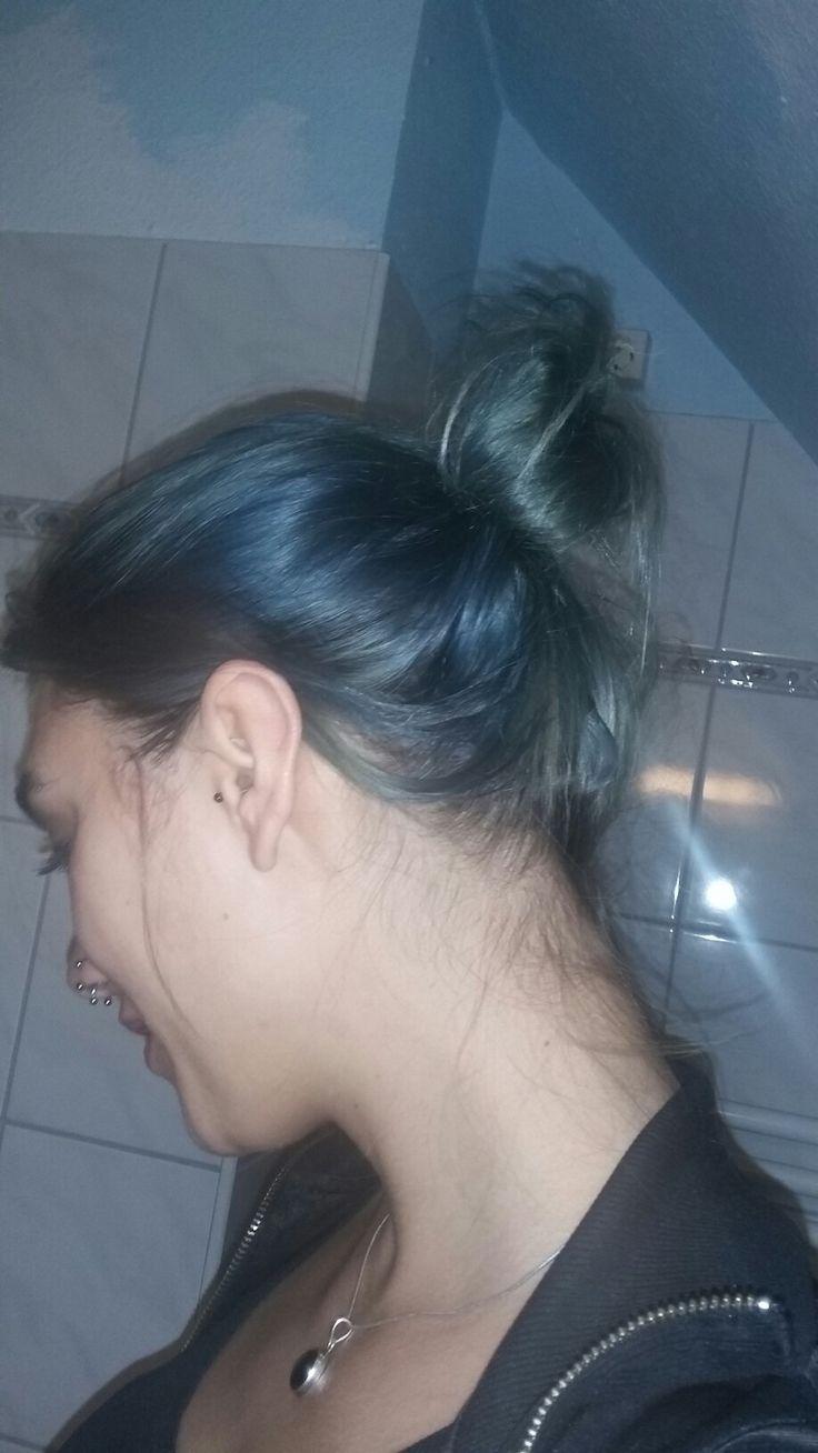 nice blue hair