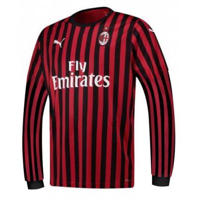 Cheapsoccerkits Shop Long Sleeve 19-20 AC Milan Home Cheap ...