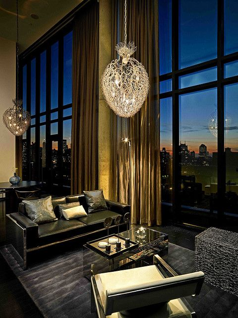 Lifestyle. I love this cool modern hotel or night lounge look.