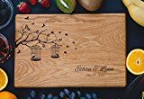 Branch Personalized Engraved Cutting Board- Wedding Gift Anniversary Gifts Housewarming GiftBirthday Gift Corporate Gift Award Promotion.