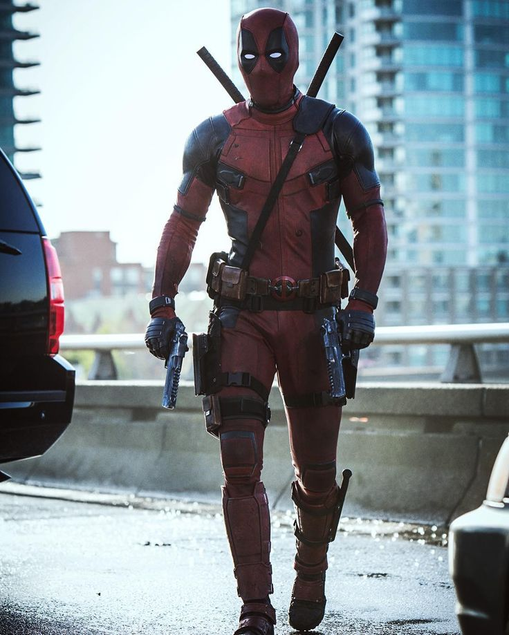 That ain't pavement he's walking on. It's sunshine. Thank you to the #Deadpool fans who took us from leaked test footage, all the way to the main event. It's because of you, we got to make the real Deadpool. The right way.