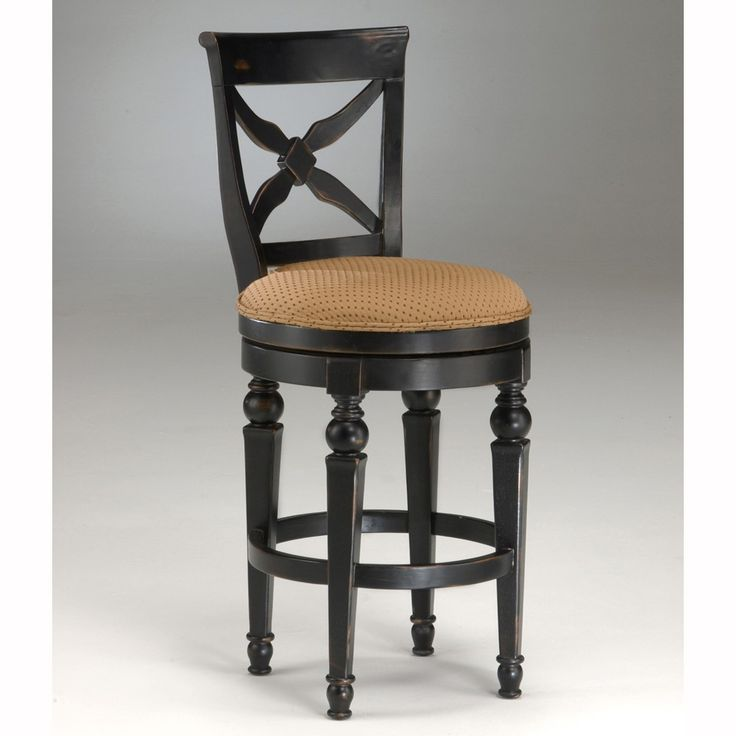 Northern Heights Wood Swivel Stool in Black-Honey by Hillsdale Furniture - 28 Best French Country Bar Stools Images On Pinterest