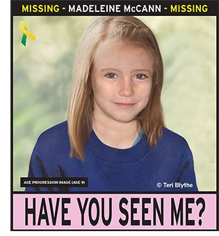 The search for Madeleine McCann continues on her tenth Birthday!