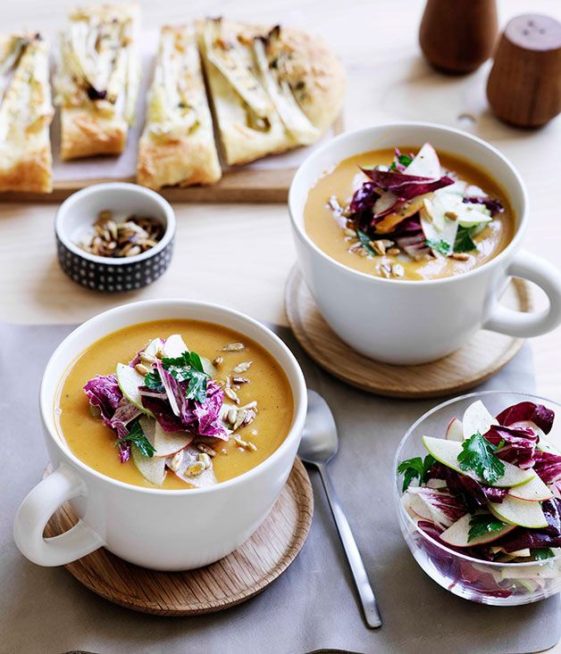 spiced pumpkin soup - gourmet traveller