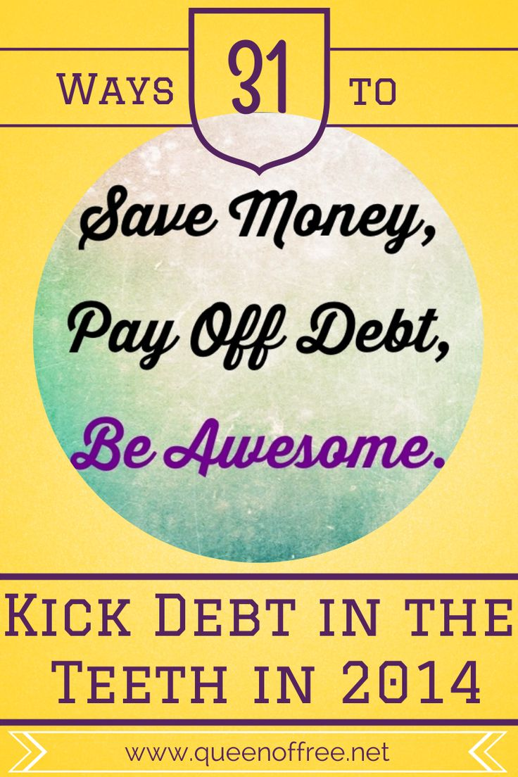 Throughout January, sign up for daily simple tips to get your finances under control from someone who paid off $127K. Today, why you need to STOP FREAKING OUT to #KickDebtInTheTeeth.