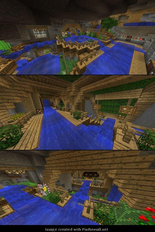 Minecraft Creations, Minecraft Ideas, Minecraft Underground, Minecraft  Buildings, Terrarium Ideas, Amazing Ideas, Building Ideas, Terraria, Lab