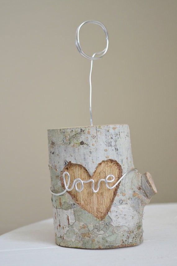 Love Wire Wrap for Your Wedding Table, 2014 beach wedding card holder ideas www.loveitsomuch.com