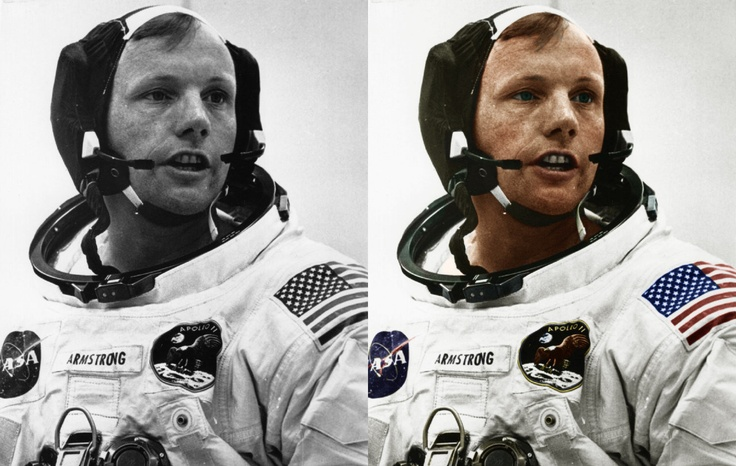 Neil Armstrong: Amazing Photo, Neil Armstrong, Historical Photo, Black And White, 27 Photo, Recolor Photo, Famous Black, Photo Colors, White Photographers