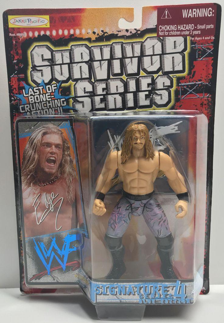TAS039052 - 1999 Jakks WWE Survivor Series - Series 4 - Edge