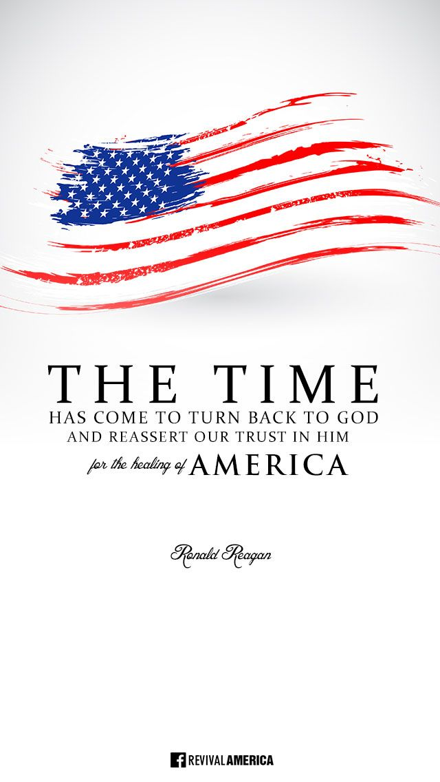 """Downloads are available at http://ibibleverses.christianpost.com/?p=31610  """"The Time has come to turn back to GOD and reassert our trust in HIM for the healing of AMERICA"""" - Ronald Reagan  #RonaldReagan #America"""