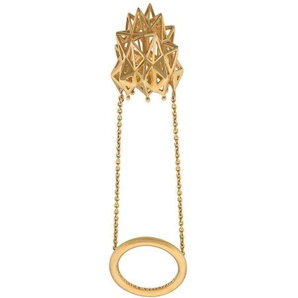 John Brevard Stella Thimble Gold Ring r2A1Gd88