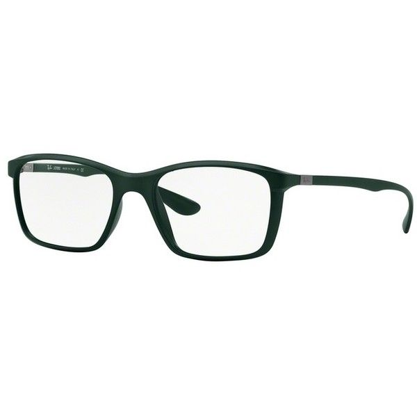 Ray-Ban RX 7036 5440 Matte Military Green Eyeglasses (54 KWD) ❤ liked on Polyvore featuring men's fashion, men's accessories, men's eyewear, men's eyeglasses, ray ban mens eyeglasses and oliver peoples mens eyeglasses