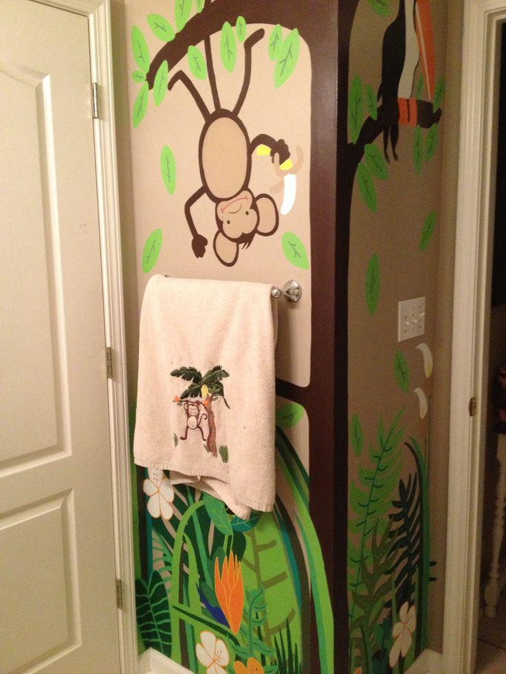 Best 25 monkey bathroom ideas on pinterest kid bathroom for Monkey bathroom ideas