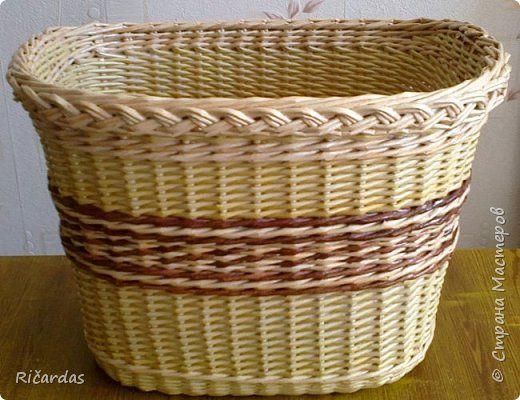 Поделка изделие Плетение Август-Сентябрь Трубочки бумажные фото 14