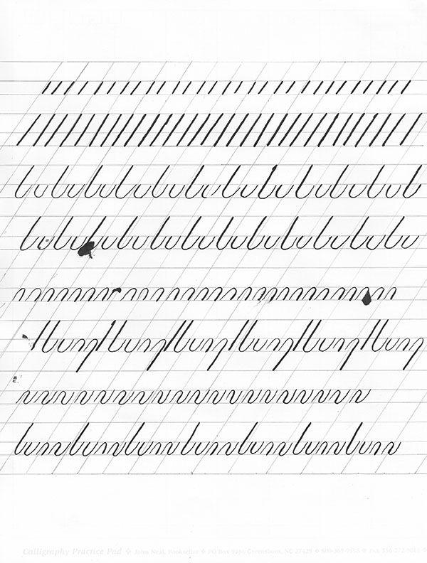 Souvent 126 best calligraphie images on Pinterest | Penmanship, Pretty  FD95
