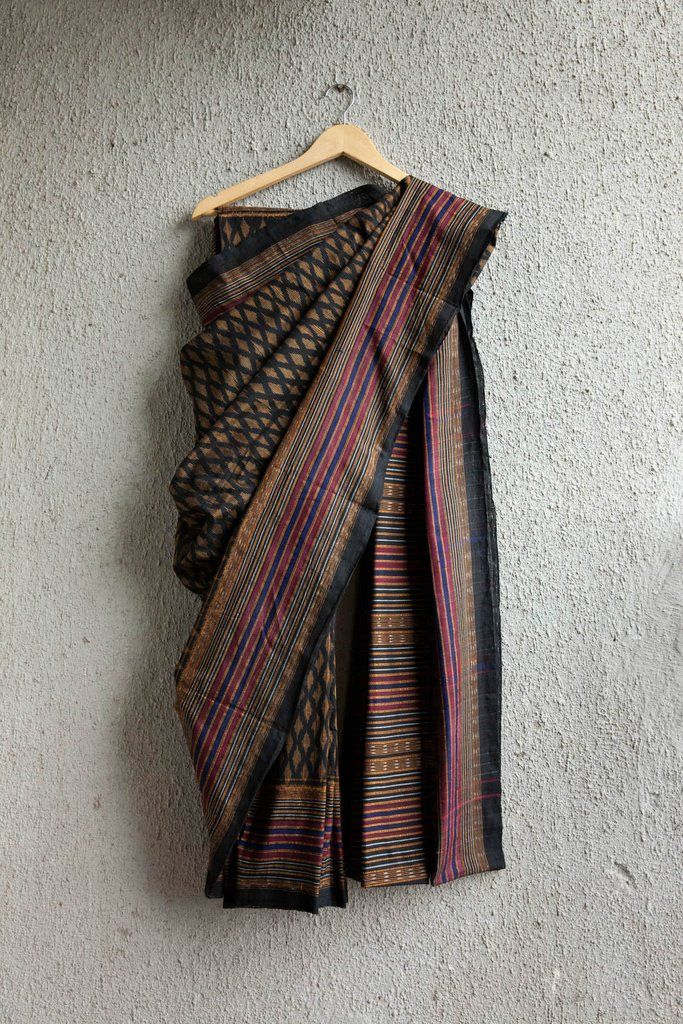 This beauty is handwoven cotton saree from Odisha. Designed with lot of love and keeping in mind the needs of today's customer, the saree is light and a great p