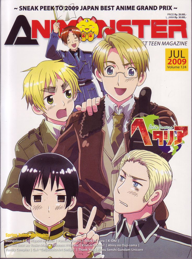 Hetalia: Axis Powers : Episode 27 by drawingforlife1 on DeviantArt