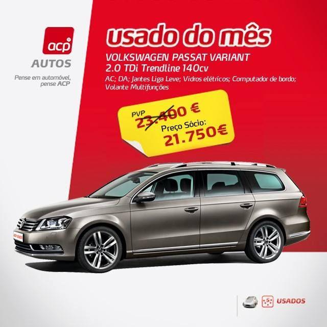 ::ACP USADOS 5*:: Conheça as oportunidades ACP Usados 5*, automóveis com o carimbo ACP. Saiba mais em http://www.acp.pt/autos