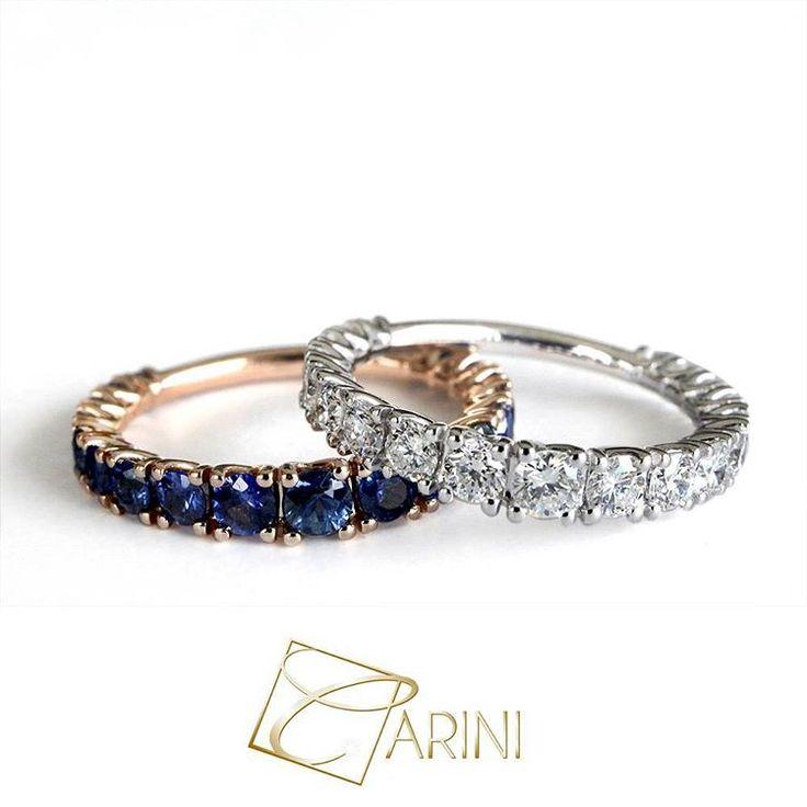 """""""Le emozioni sono mute, ma hanno colori meravigliosi"""" (Frederick C.F.) Anello scalare con zaffiro blu ct 1.63. Anello scalare con diamanti bianchi ct 1.24 #carinigioielli #engagementring #engaged #diamond #ring #sapphire #diamante #anello #lusso #luxurylifestyle #wedding #bridetobe #bride #shesaidyes #gemstone #jewellery #jewelry #proposal #iloveyou #finejewelry #marryme #jewelrygram #howheasked #quotesoftheday #tag #inselly"""