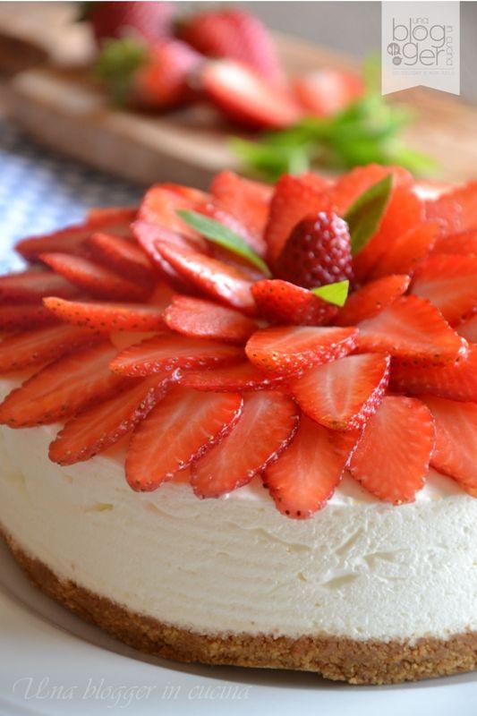 Cheesecake alle fragole (8)