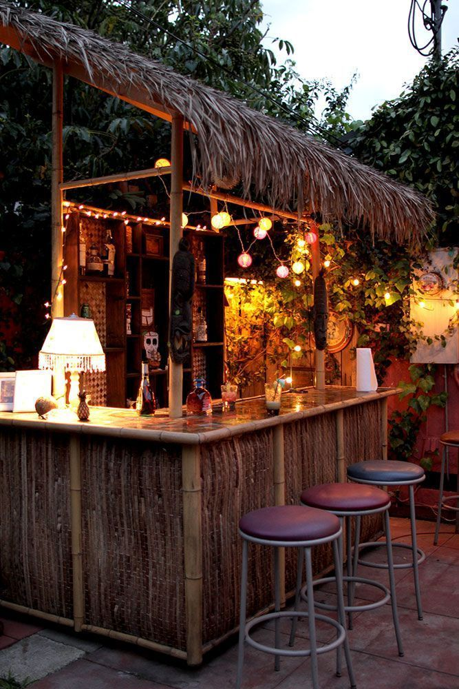 20 Creative Patio Outdoor Bar Ideas You Must Try At Your Backyard Outdoorbar Barideas