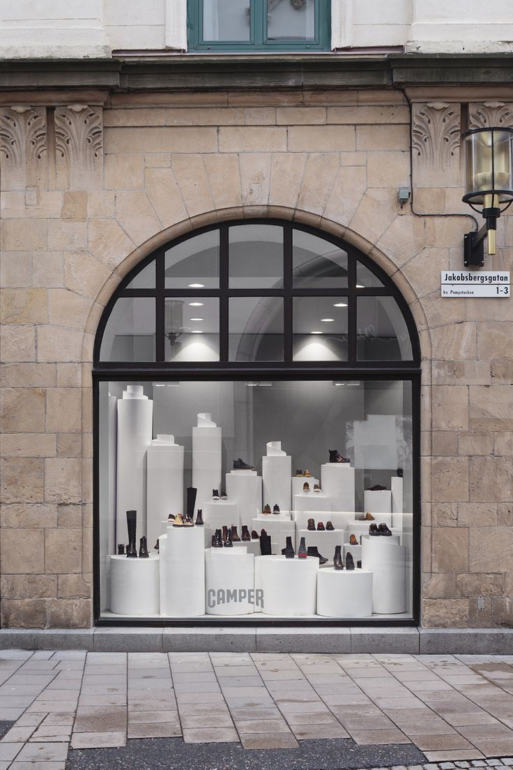 """Nendo's partnership with Camper revolves around""""shoes that walk freely through the air"""" as demonstrated in this store design."""