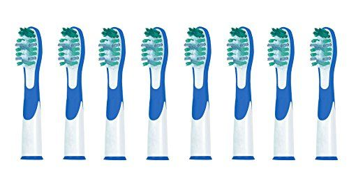 Product Type: Sonic Replacement Brush Heads This #toothbrush #heads only fit for Oral B Sonic Complete & Vitality Sonic, but not fit for Oral-B Pulsonic electric...
