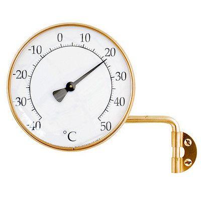 Termometer Rund från Byggfabriken