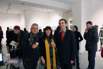 Expositions - La Galerie des Pentes, galerie d'art contemporain, Lyon Miguel Angel Concepcion et Rocio Lopez Zarandieta - Expo Bipolart - Février 2014